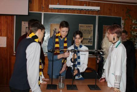 Коломенское предприятие провело для школьников квест «Гарри Поттер и магнитный камень»