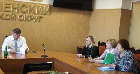 Глава Коломенского городского округа провел прием граждан