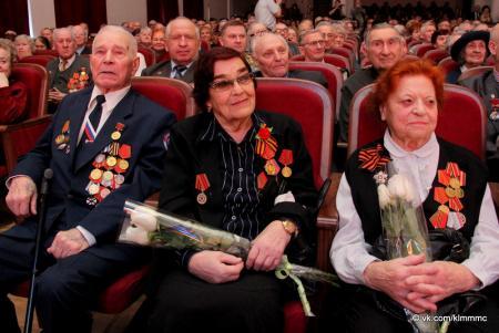 В Коломне защитников Отечества поздравили с праздником