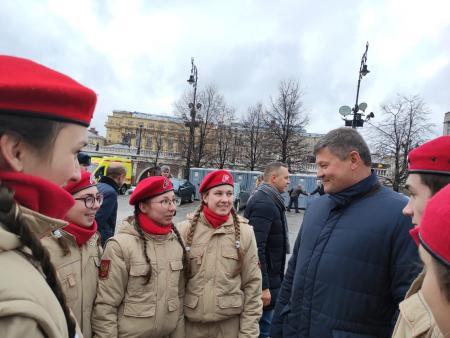 Делегация Коломенского городского округа приняла участие в торжественной церемонии у Могилы Неизвестного Солдата