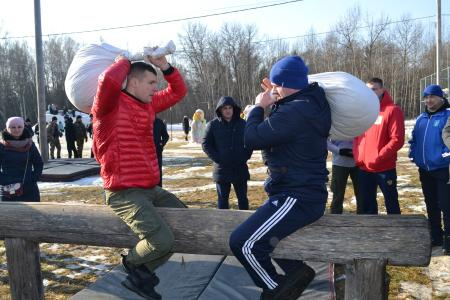 Коломенские полицейские приняли участие в соревнованиях ко Дню защитника Отечества