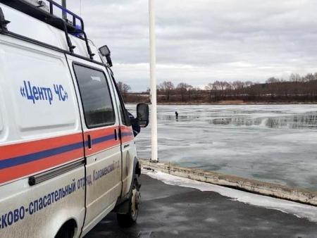 Коломенцев просят не рисковать жизнью и не выходить на лед