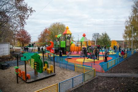 Подведены итоги голосования по выбору мест для установки детских игровых площадок
