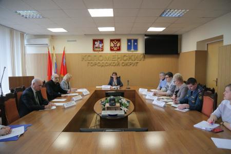 С представителями трудовых коллективов Коломенского округа провели Координационный совет