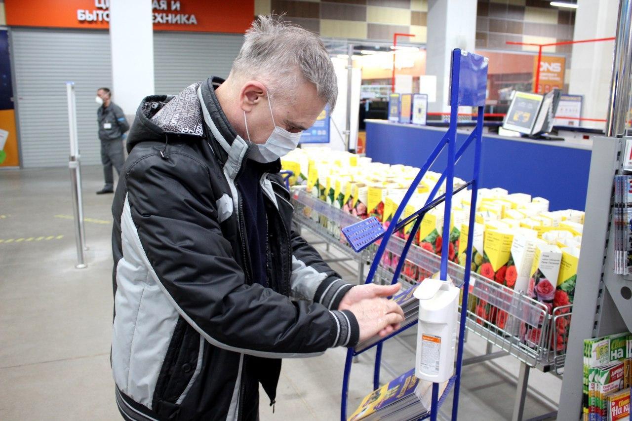 Новости Коломны   Глава Коломенского городского округа Денис Лебедев проверил продуктовые магазины муниципалитета, чтобы посмотреть, как в них соблюдаются правила безопасности Фото (Коломна)   iz zhizni kolomnyi