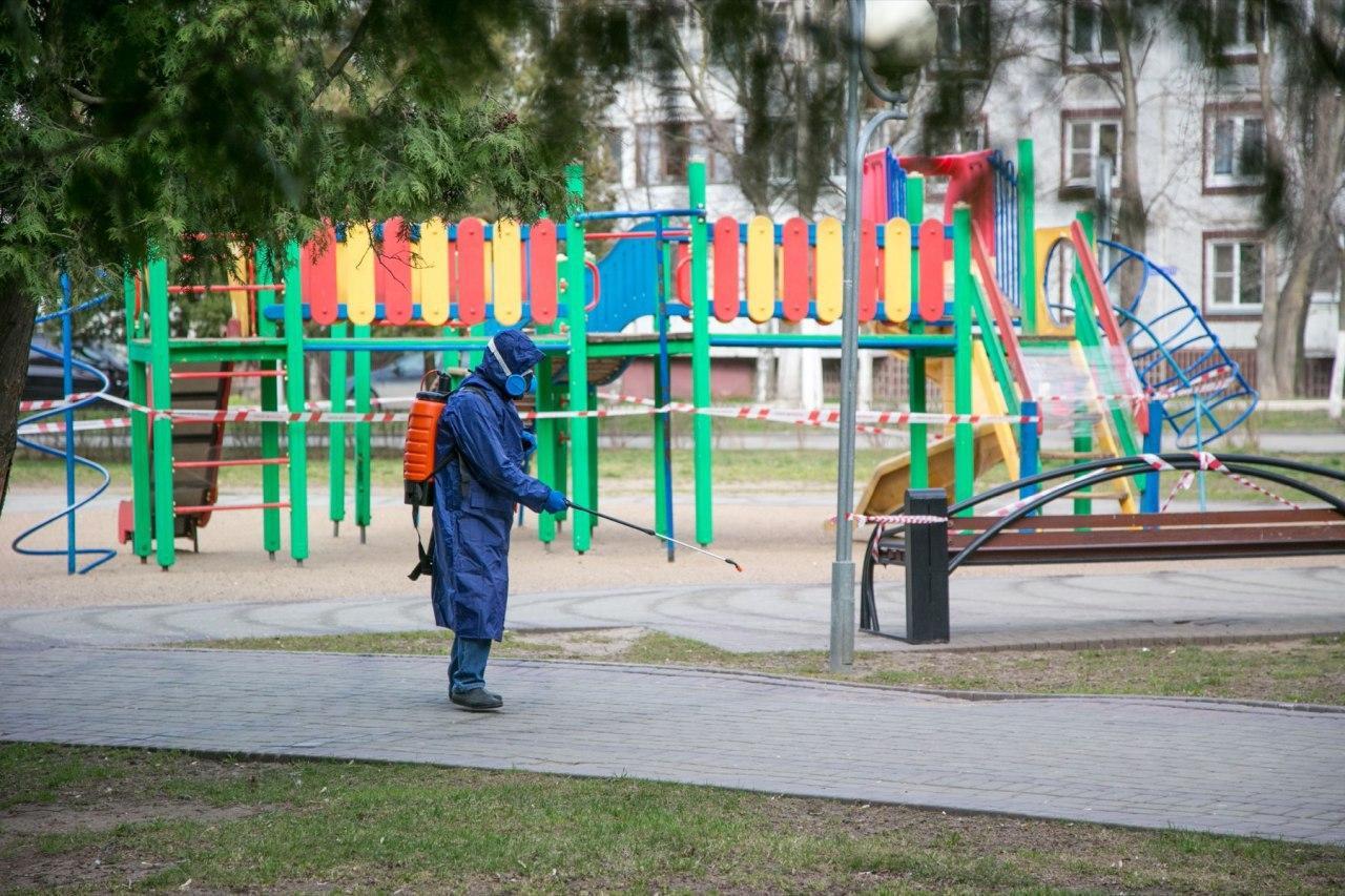 Ежедневную дезинфекцию будут проводить на общественных территориях в Коломенском городском округе