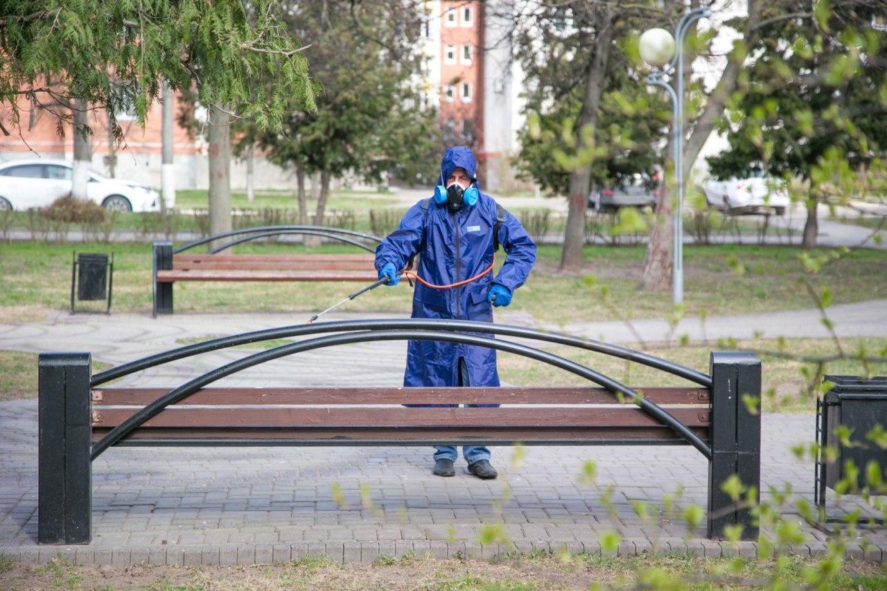 Новости Коломны   Ежедневную дезинфекцию будут проводить на общественных территориях в Коломенском городском округе Фото (Коломна)   iz zhizni kolomnyi