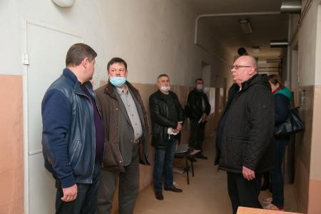 Глава округа проверил готовность Коломенской ЦРБ к работе в условиях распространения коронавируса