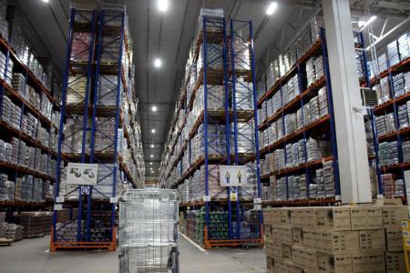 На складах создан трехмесячный запас продовольствия