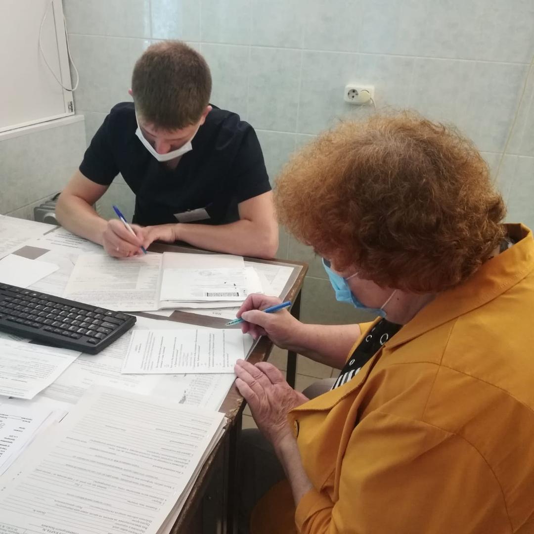 Пациенты Коломенской ЦРБ заполнили анкету о качестве оказания медицинской помощи