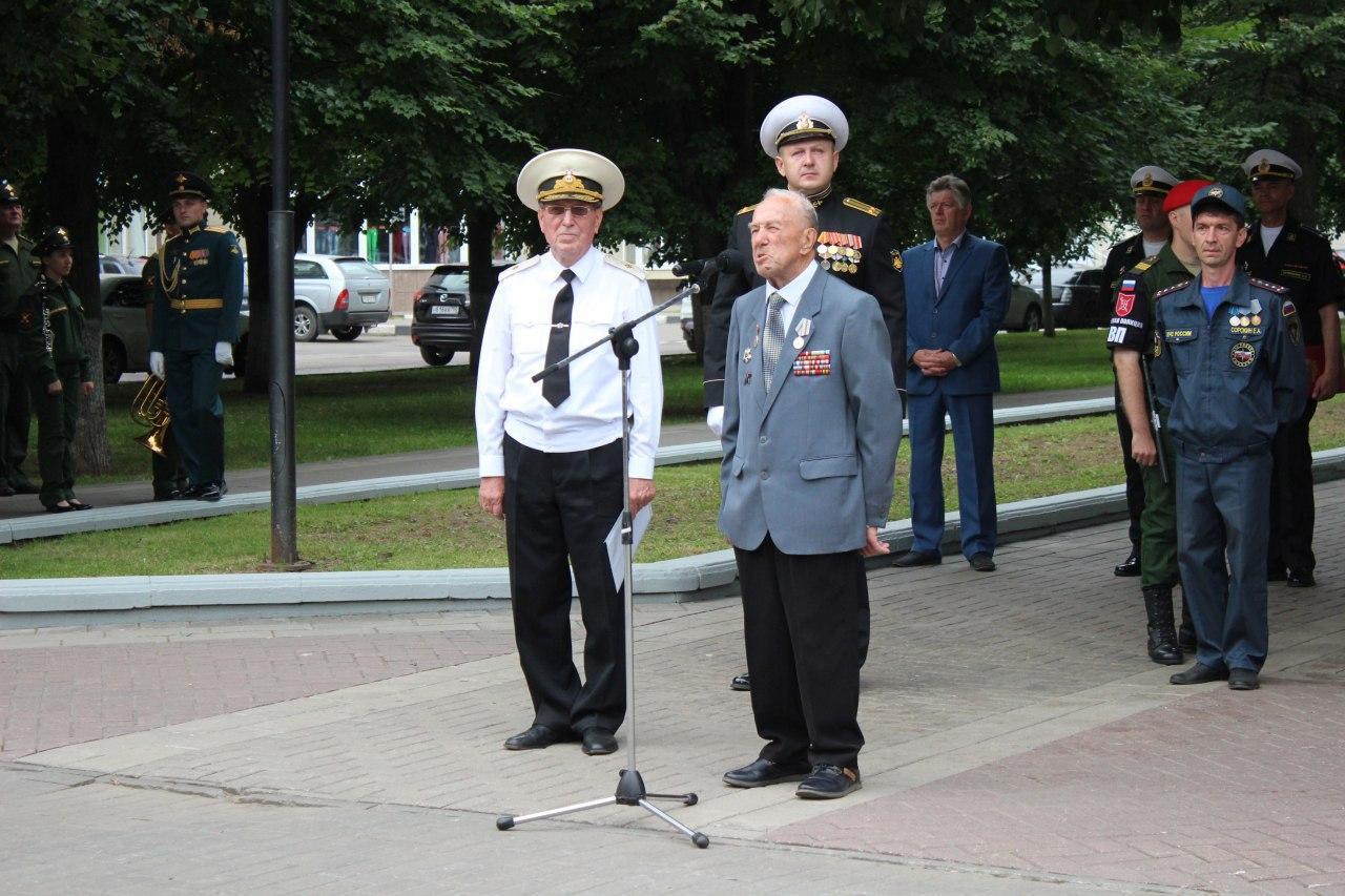 Напутствие молодым морякам дал ветеран Великой Отечественной войны