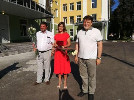 Медикам Коломенской ЦРБ вручили награды Мособлдумы