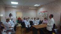 Заслуженный артист России подарил медикам Коломенской ЦРБ праздничный концерт