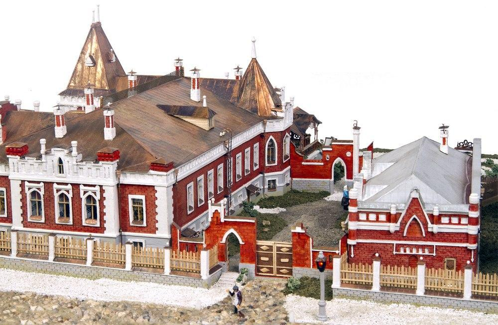 В Коломне открылась выставка архитектурных макетов
