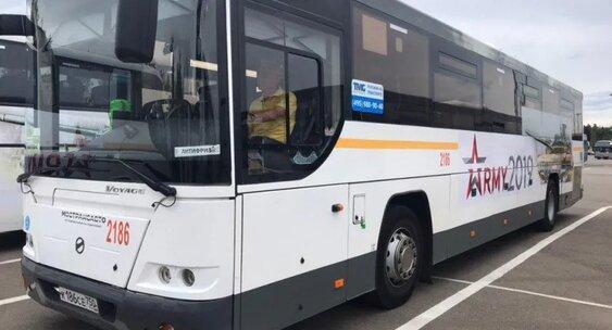 Около 600 автобусов Мострансавто будут задействованы в обслуживании Международного военно-технического форума «Армия-2020»