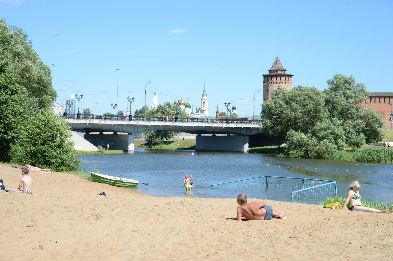 Коломенские пляжи вошли в число лучших в Подмосковье