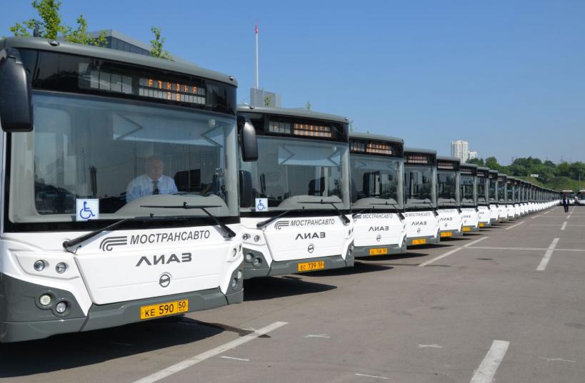 С 1 сентября автобусы Мострансавто начали перевозить пассажиров в подмосковный парк «Патриот»