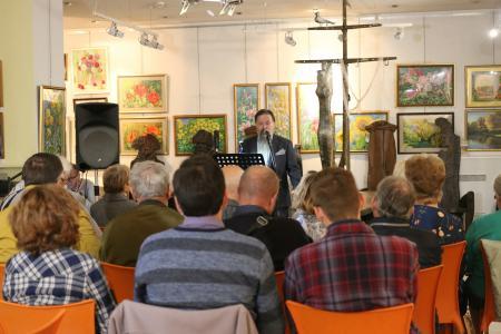 Коломенский поэт выступил в моноспектакле «Корабль» по собственной книге сонетов