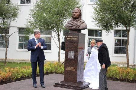 В Коломне открыли памятник благотворительнице Марии Шевлягиной