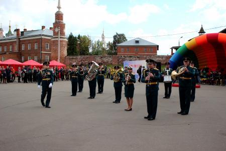 Коломна принимала участников второго фестиваля духовых оркестров