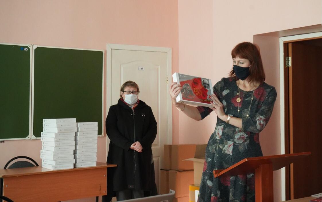 В методическом центре презентовали акцию «Бессмертный полк Коломенского завода»