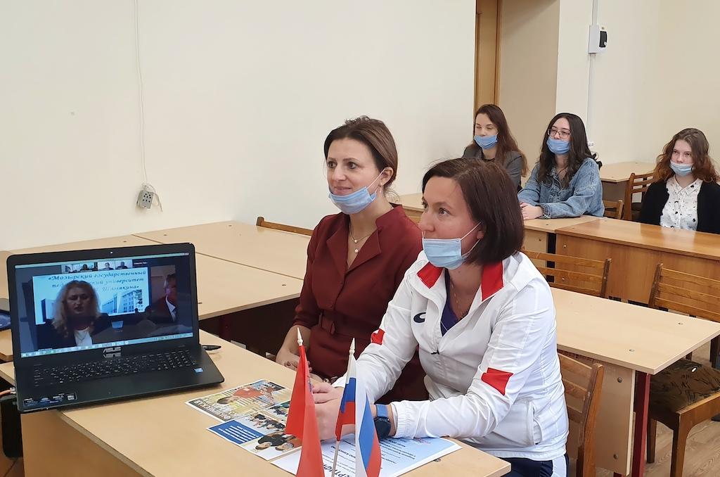 Преподаватели коломенского университета обмениваются опытом с коллегами из Беларуси и Украины