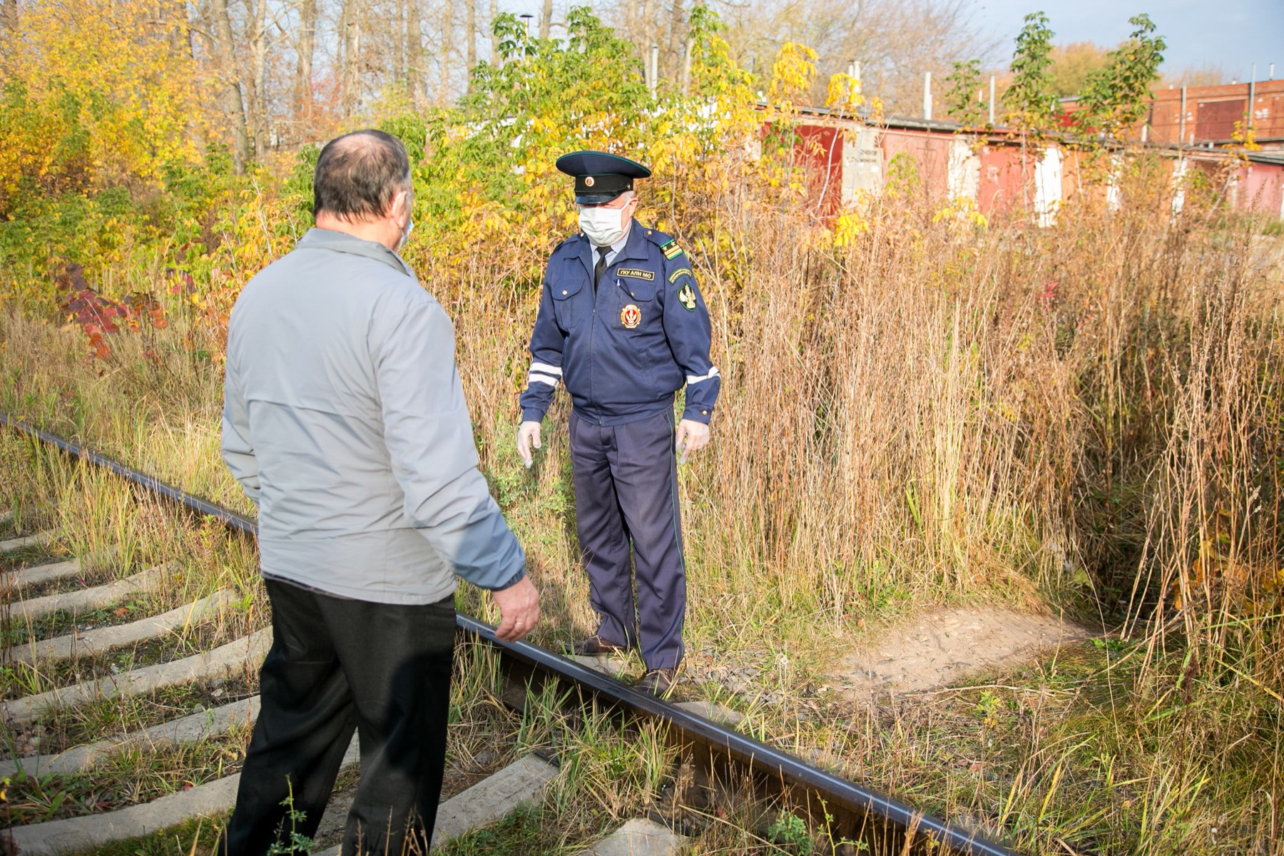 В Коломне провели рейд на озерской ветке железной дороги