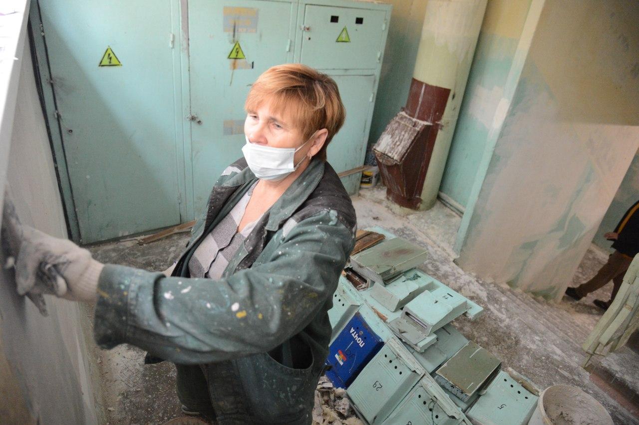 Работа по ремонту подъездов продолжается в Коломенском городском округе