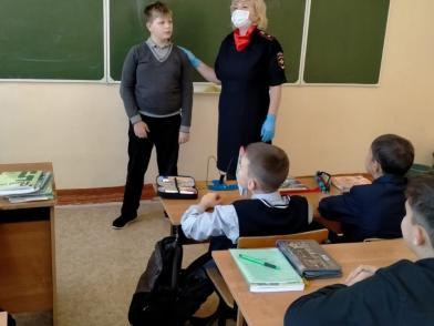 Коломенские полицейские провели для школьников профилактическую беседу «Подросток-игла»