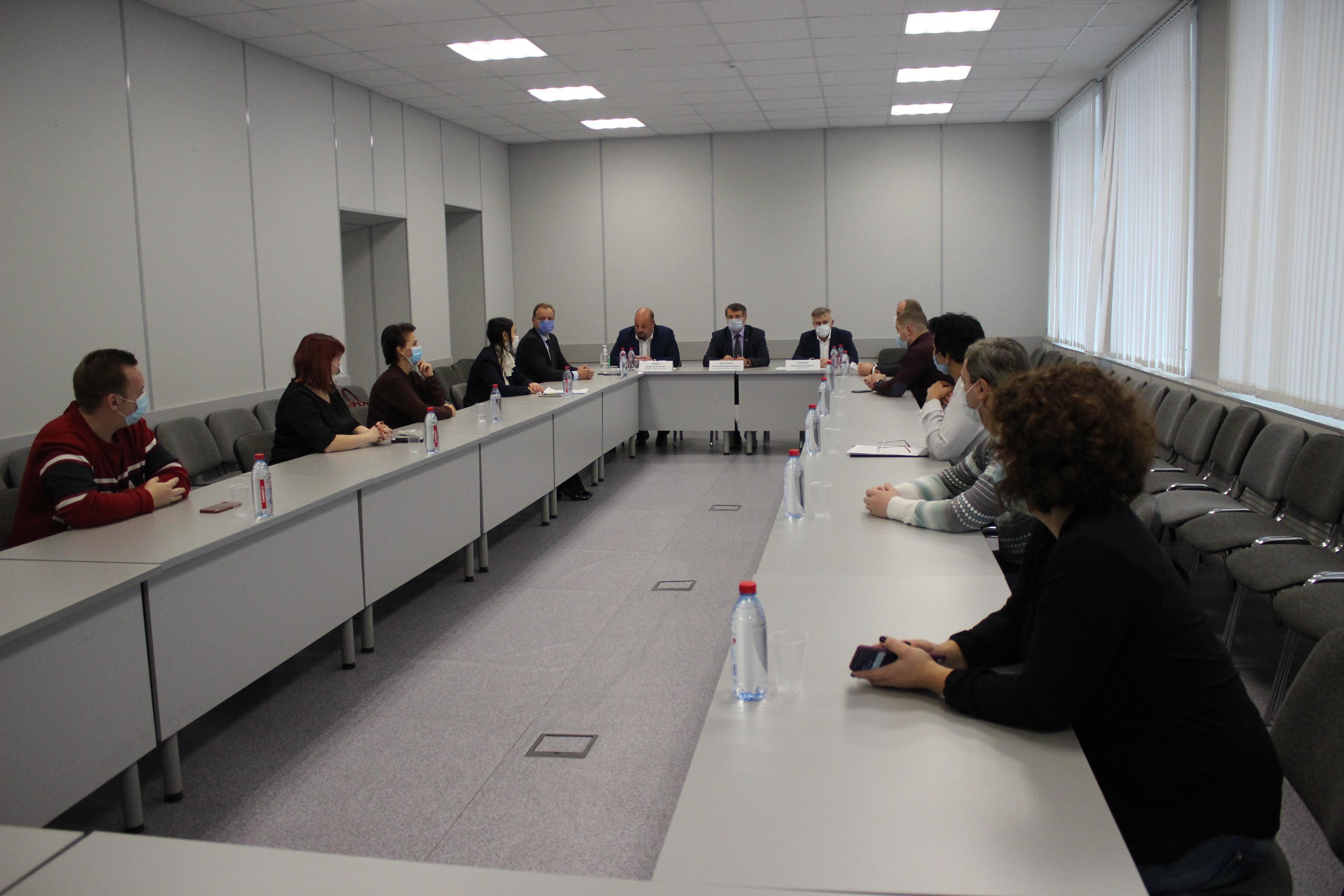В Коломне провели заседание совета по развитию общественных территорий