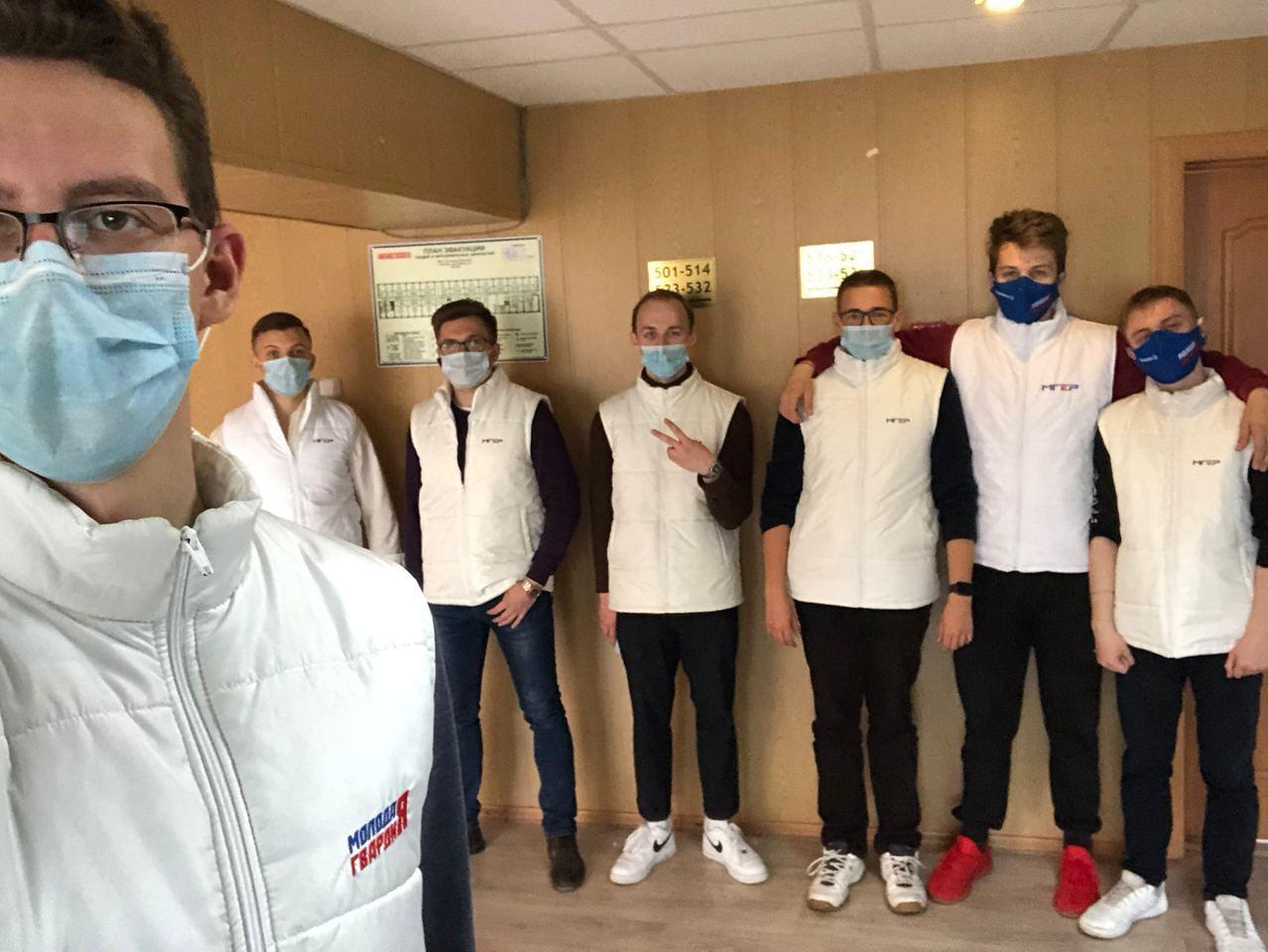 Коломенский волонтерский штаб принимает заявки на помощь добровольцев