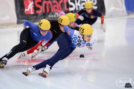 В Коломне провели Всероссийские соревнования по шорт-треку
