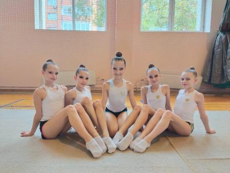 Юные коломчанки стали победительницами турнира по художественной гимнастике