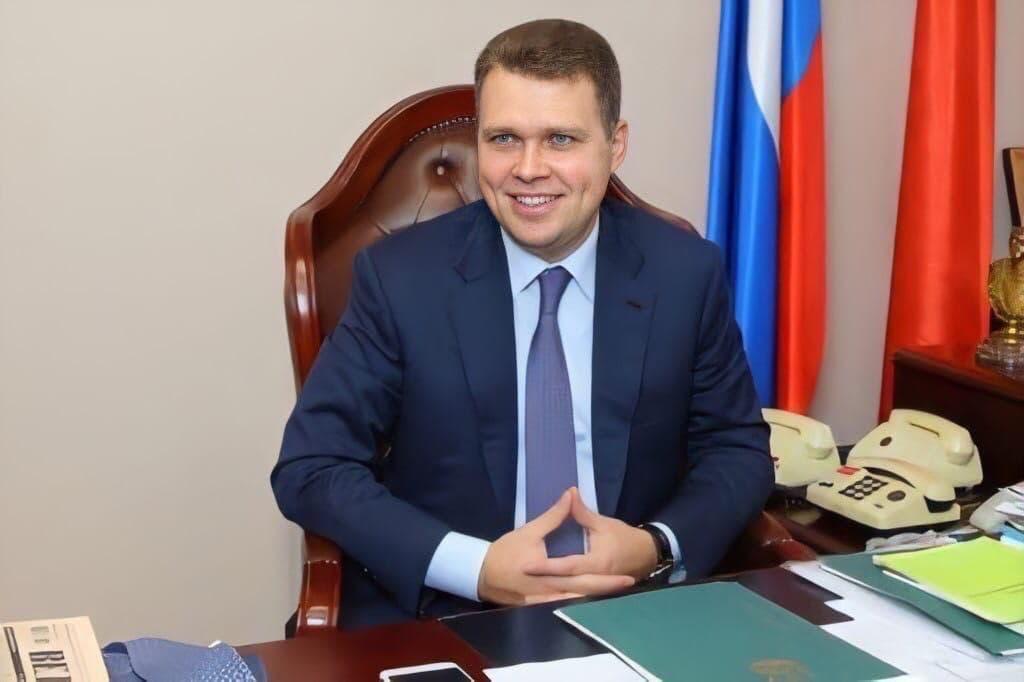 Поздравление первого заместителя Председателя Московской областной Думы Никиты Чаплина с Днем сотрудника органов внутренних дел
