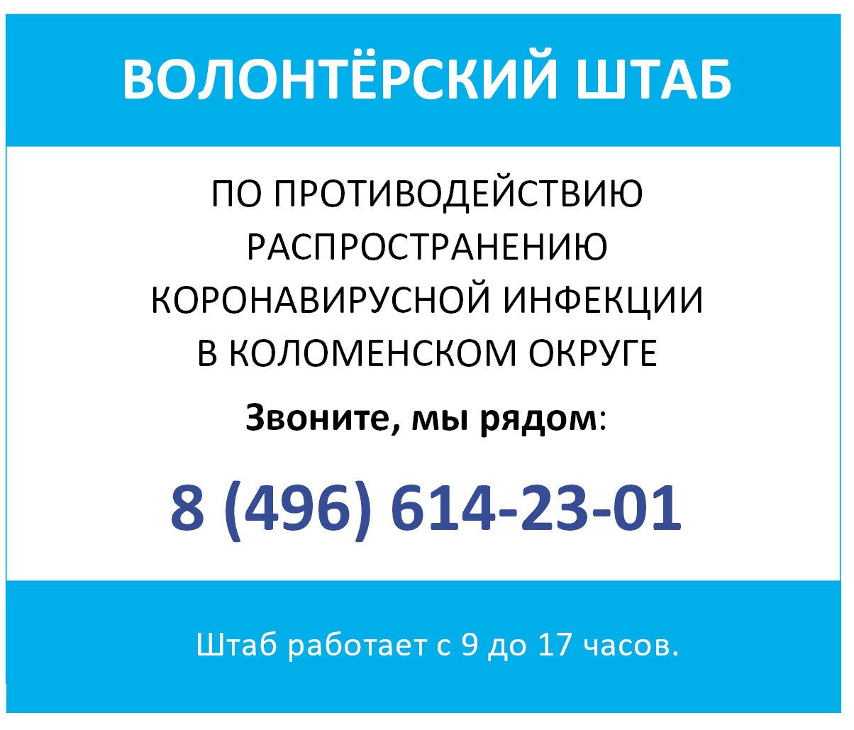 Коломенские волонтёры продолжают оказывать помощь всем, кому она необходима