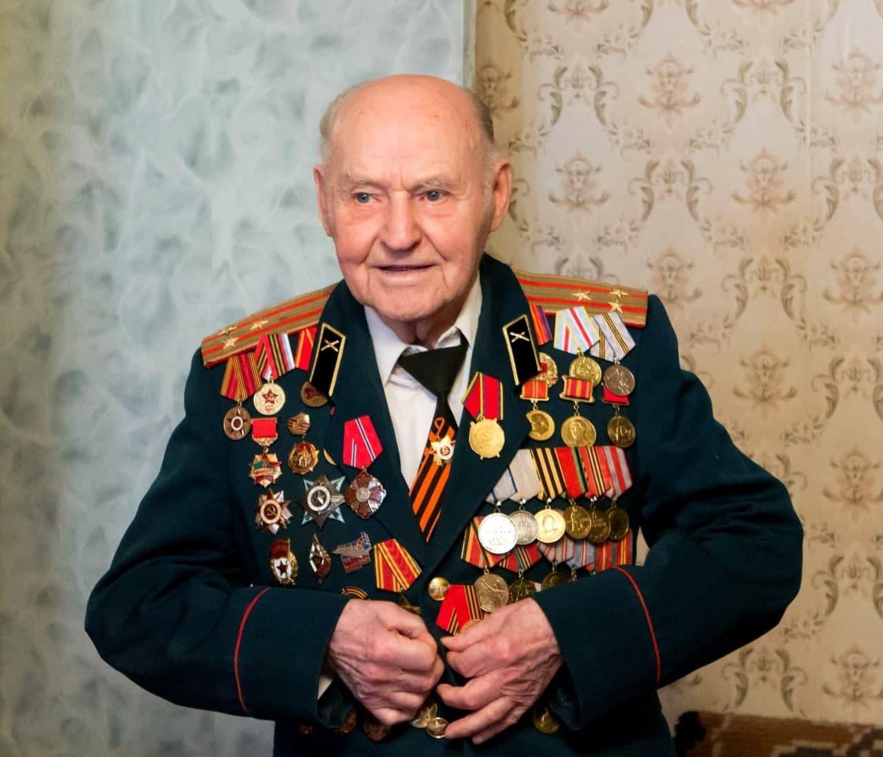 Коломенский ветеран отметил 95-летний юбилей