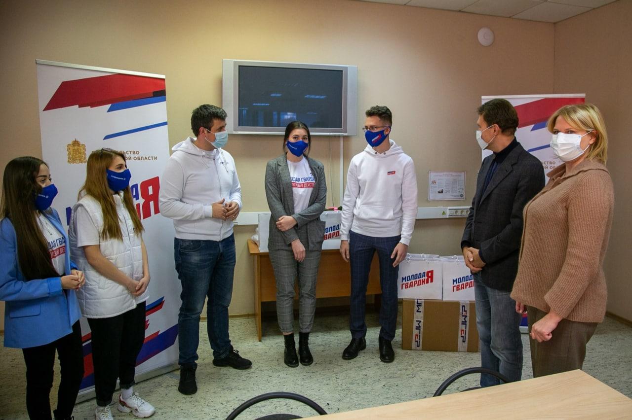 Зампред правительства Московской области Мария Нагорная встретилась с коломенскими молодогвардейцами