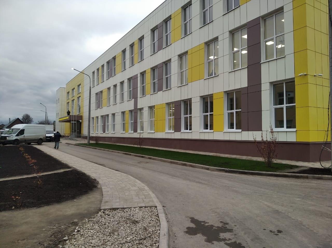 Новую коломенскую школу обеспечили электроэнергией
