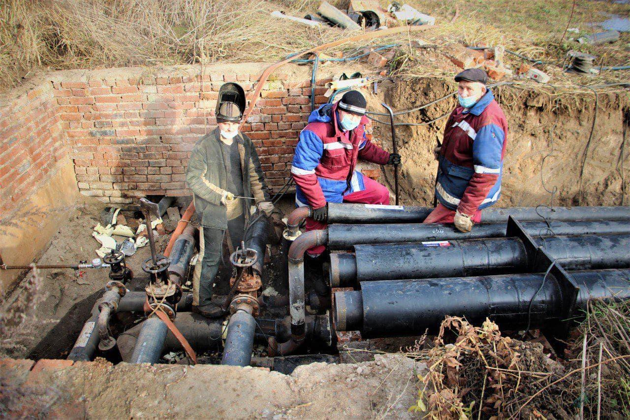 Более восьми километров тепловых сетей заменили специалисты МУП «Тепло Коломны»