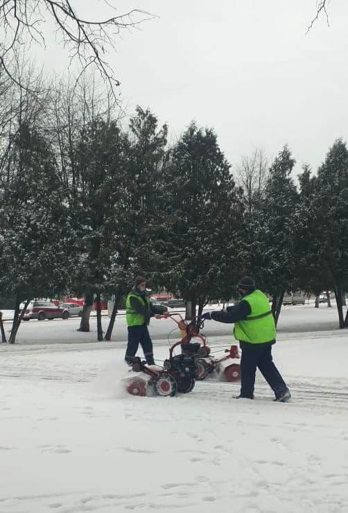 В Коломне на уборке снега задействовано более 300 человек
