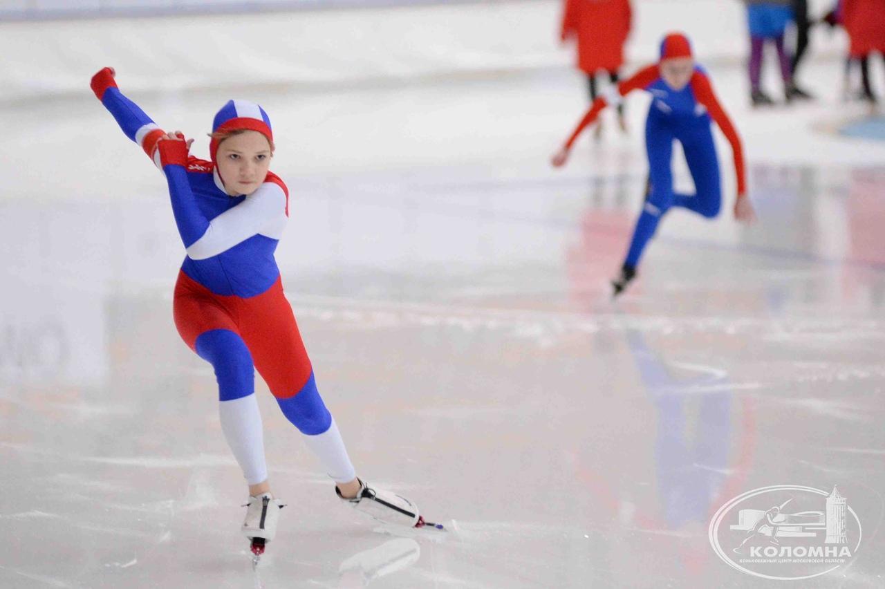 В Коломне завершились Всероссийские соревнования по конькобежному спорту