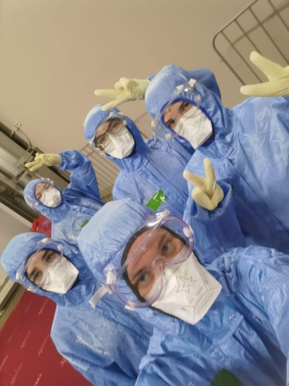 Коломенские студенты-медики заступили на трудовую вахту