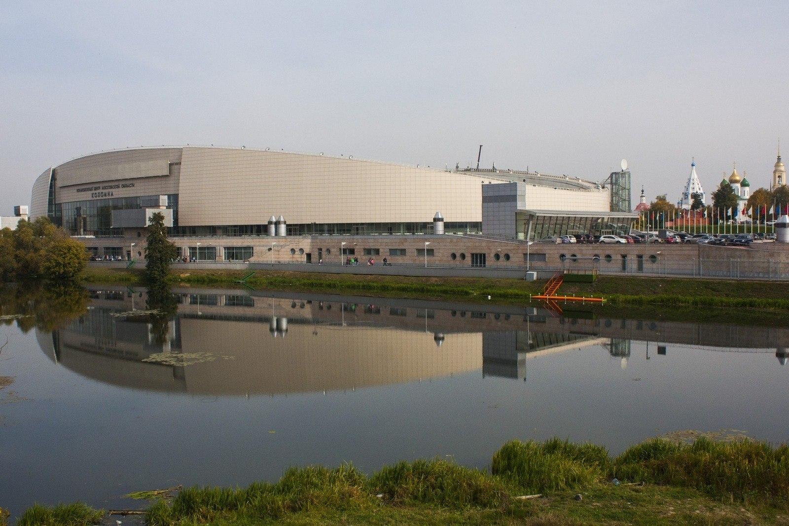 Конькобежный центр «Коломна» лидирует в рейтинге спортивных центров Московской области