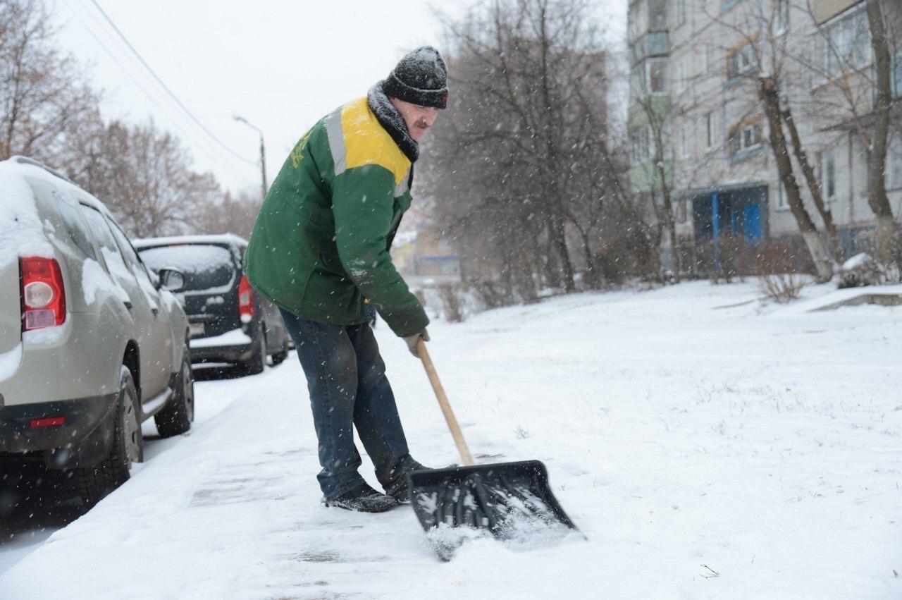 В Коломне и во всем Подмосковье ожидается обильный снегопад 25 декабря и в ночь на 26 декабря