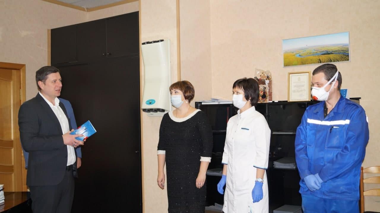 Коломенских медиков и соцработников поблагодарили от имени губернатора Московской области