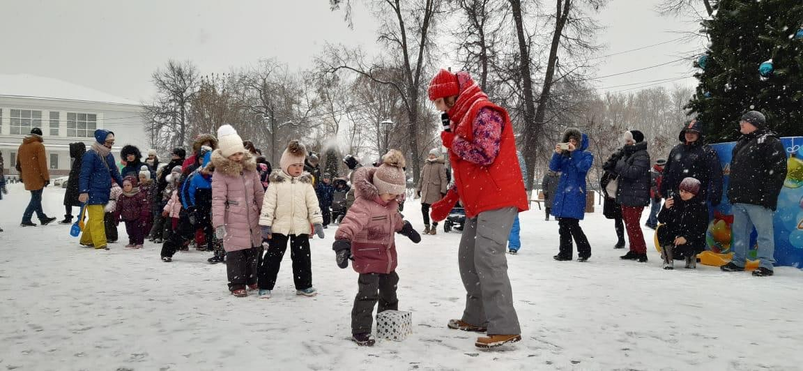 В Коломне провели Рождественские гуляния