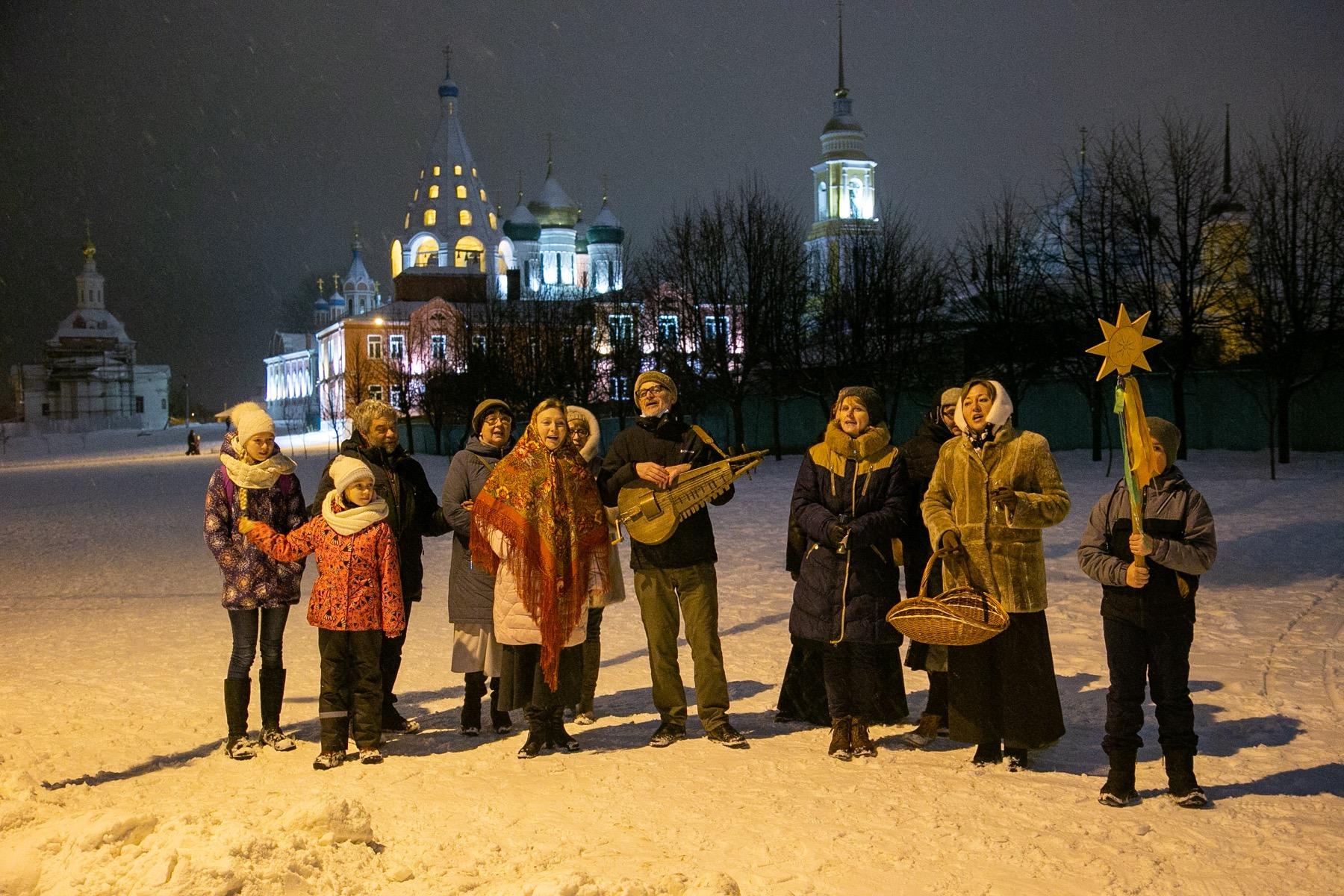 В Коломне прошло Рождественское шествие