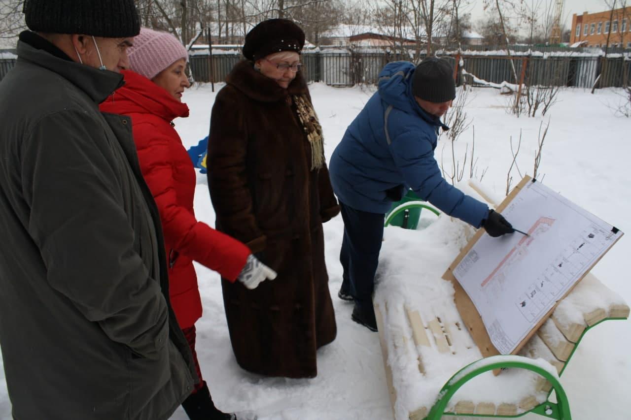 Продолжается работа по согласованию с жителями Коломны проектов благоустройства дворовых территорий