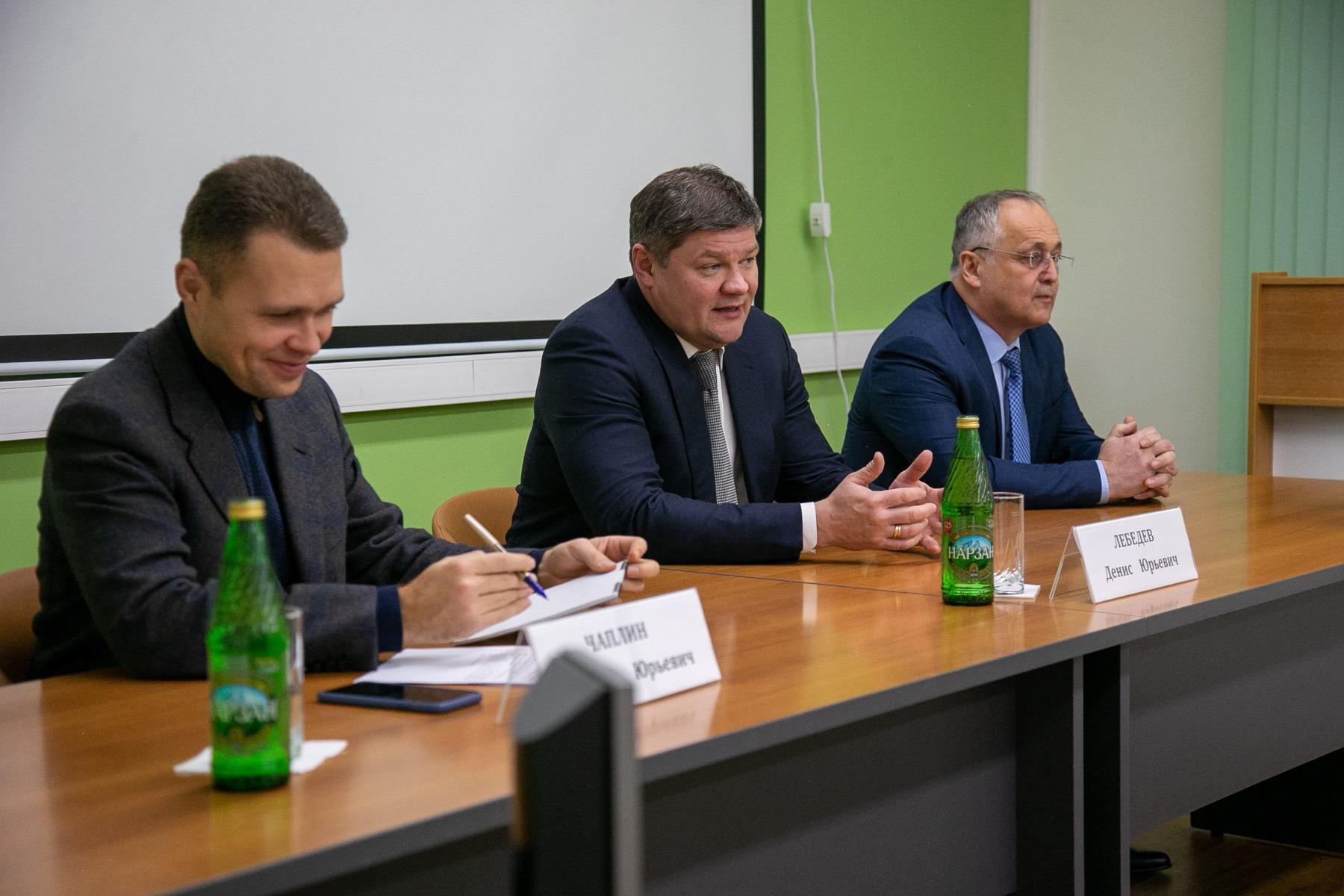 Первый зампред председателя Мособлдумы и глава округа встретились с коллективом Коломенского перинатального центра