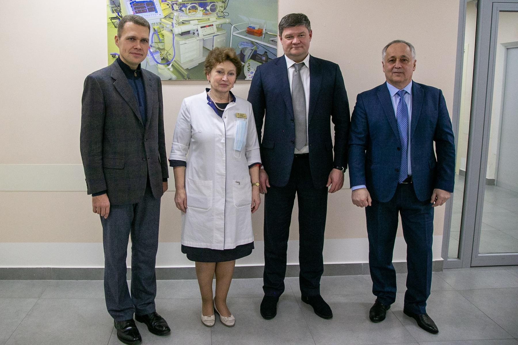Коломна, Первый зампред председателя Мособлдумы и глава округа встретились с коллективом Коломенского перинатального центра